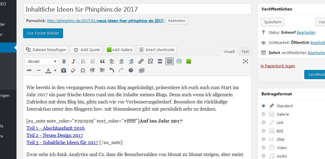 Wordpress PhinphinsDE