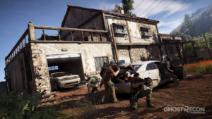 ghost recon wildlands fire